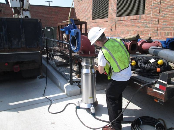 Lake Orion Water Pump Installation