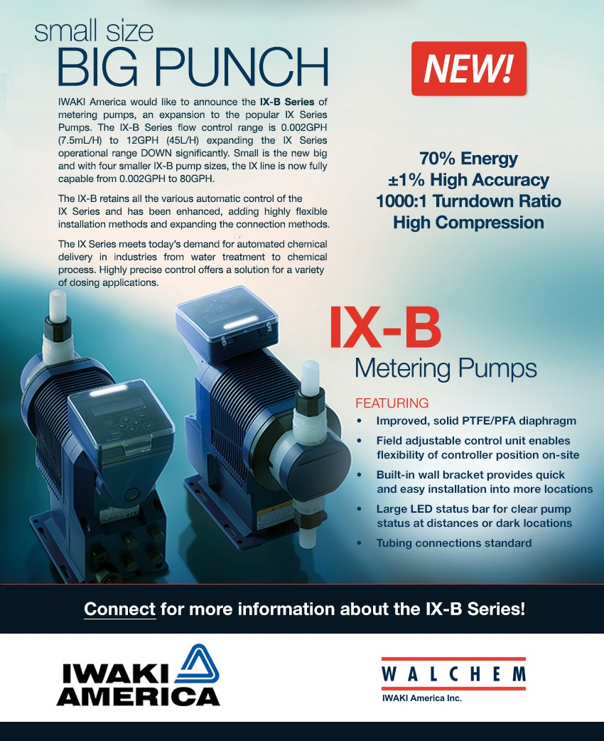 NEW Walchem Pump - Blog & Latest News | JETT Pump & Valve - ixb